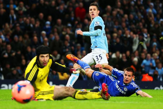 Stevan Jovetic Return Strikes Right Note for Manchester City Title Hopes