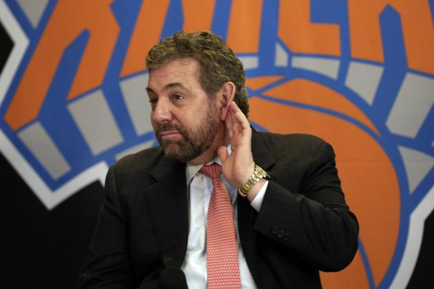 James Dolan Says He's Just 1 of Many Hated New York Sports Owners