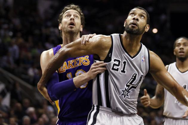 San Antonio Spurs vs. Los Angeles Lakers: Live Score and Analysis