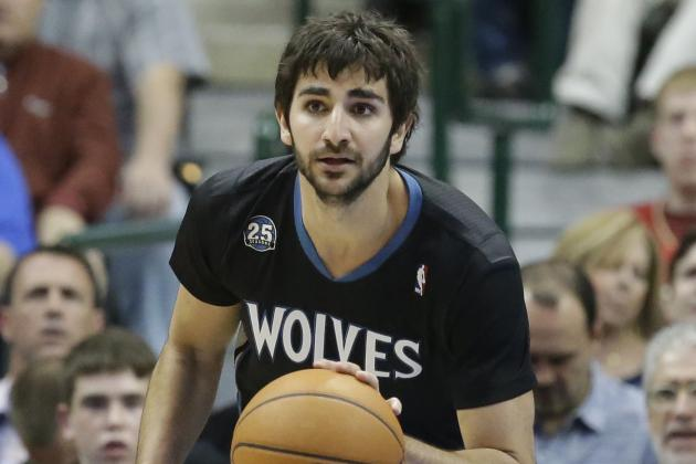 Ricky Rubio Records 3rd Career Triple-Double in Win over Dallas Mavericks