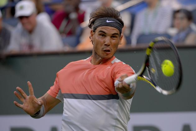 Rafael Nadal Primed for Deep Tournament Run at 2014 ATP Sony Open