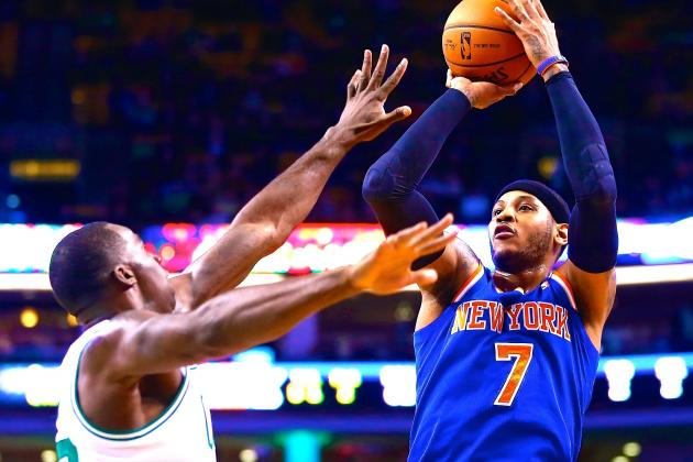 Carmelo Anthony Says He's 'On the Same Page' with Phil Jackson