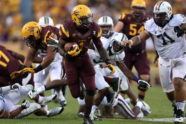 Marion Grice NFL Draft 2014: Highlights, Scouting Report for Chargers RB