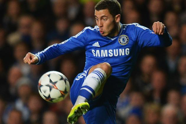 Eden Hazard Shows Damage Done to His Ankles During Chelsea vs. Galatasaray