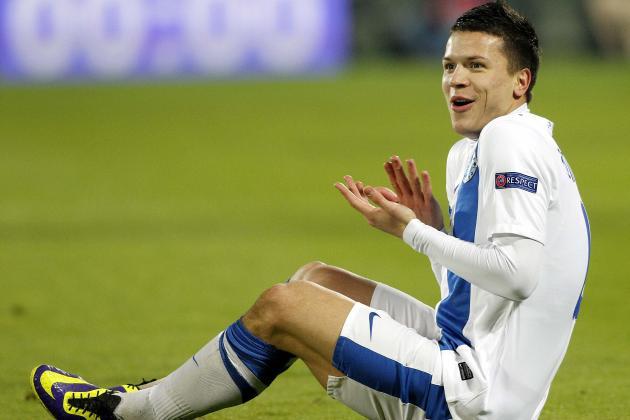 Yevhen Konoplyanka Interest Confirmed by Tottenham as Liverpool Reports Fade