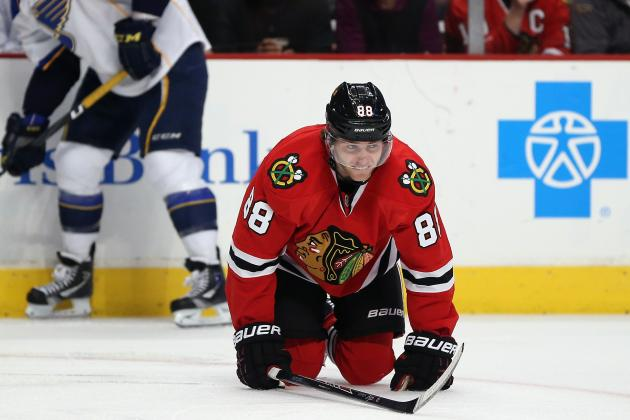 Chicago Blackhawks: What Losing Patrick Kane Means for the Playoff Push