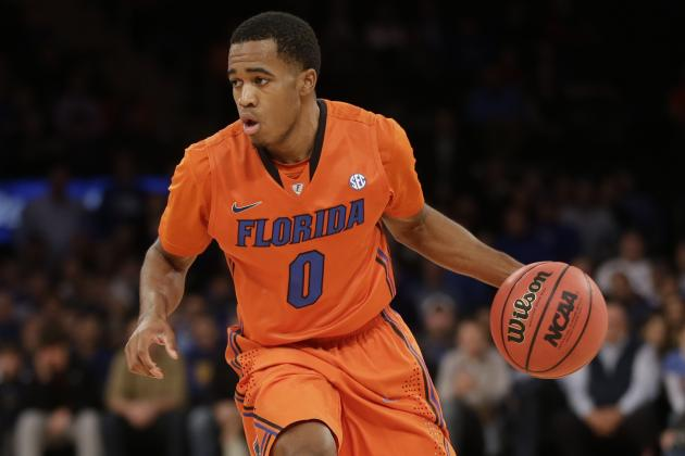 Gators Begin NCAA Tournament with Back-Up Point Guard Hill Nursing Turf Toe