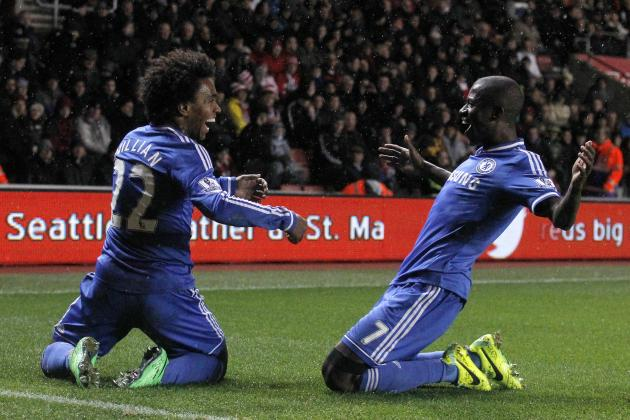 Premier League Injury News, Fantasy Impact: Willian, Ramires Banned for Chelsea
