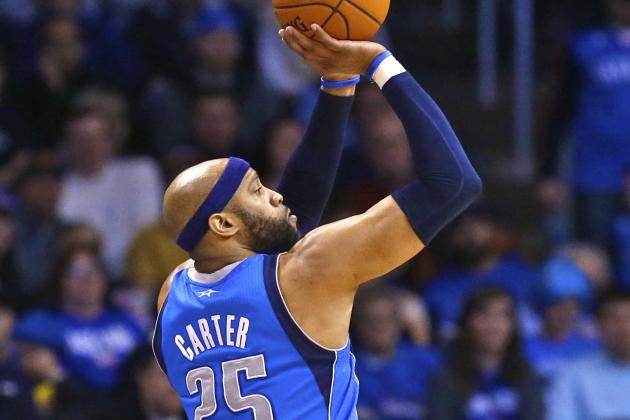 Vince Carter Passes Rashard Lewis for 7th on All-Time 3-Pointers Made List