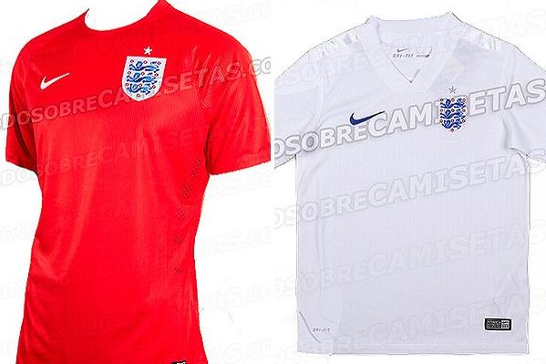 Is This England's New Kit for the World Cup?