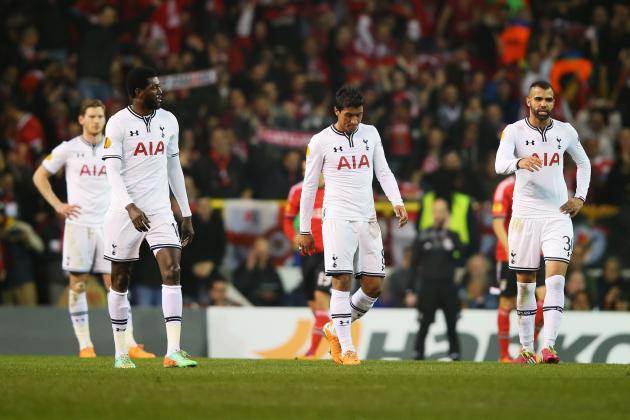Benfica vs. Tottenham Hotspur: Live Player Ratings for Spurs