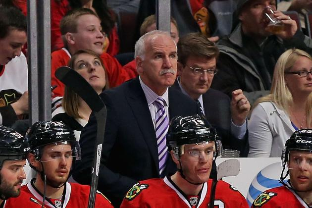 Chicago Coach Joel Quenneville Hits 700-Win Milestone