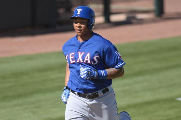 Michael Choice Biggest Riser in First Month of Texas Rangers Spring Camp