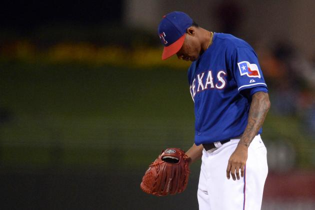 Ogando Hurts Bid for Rangers' Rotation Spot After Rough Outing