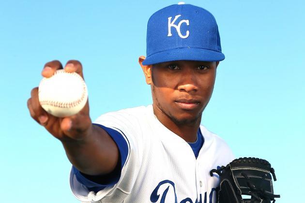 Introducing MLB Fans to Yordano Ventura, Baseball's Next Pitching Phenom