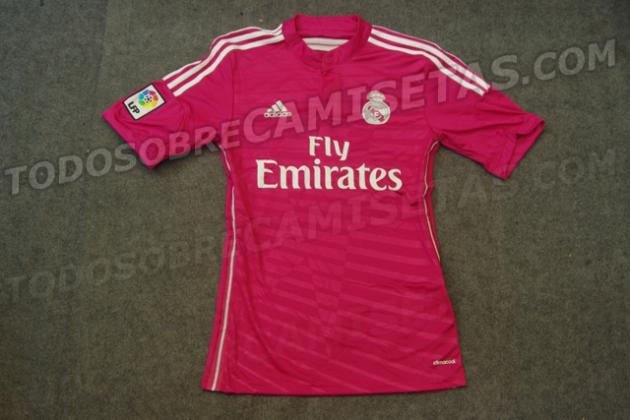 Real Madrid's Rumoured Away Shirt: Pink?