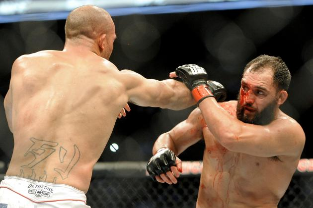 UFC 171: Johny Hendricks Says Robbie Lawler Was Tougher Fight Than GSP