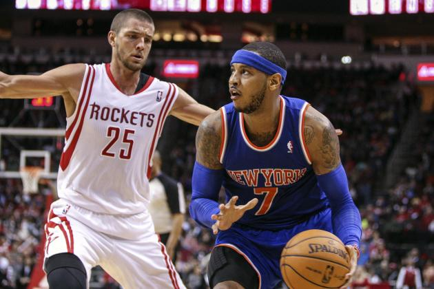 Houston Rockets and Carmelo Anthony Both Better off Without Each Other