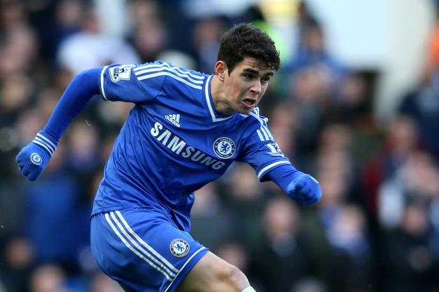 Chelsea Transfer News: Blues Must Resist Oscar Interest at All Costs
