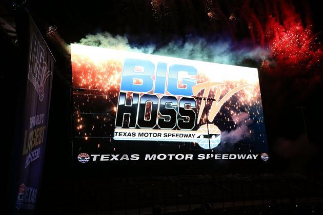 Texas Motor Speedway's 'Big Hoss' Becomes World's Largest HDTV Screen