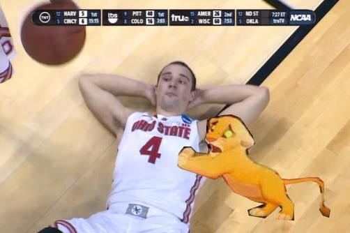 OSU's Aaron Craft's Defeated Image Leads to Hilarious Photoshop Memes