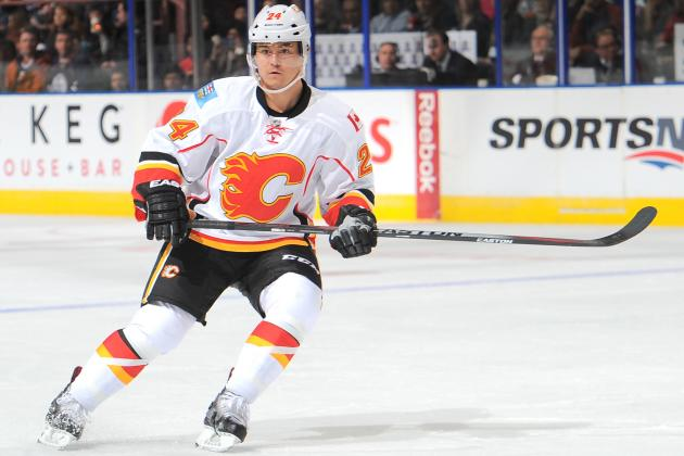 Flames' Hudler to Return from Lower-Body Injury Friday