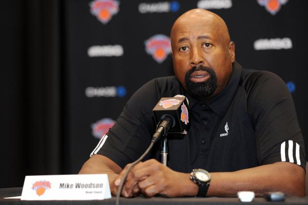 Mike Woodson Wants Phil Jackson's Assistance Teaching Triangle Next Year