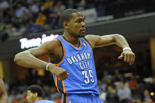 Kevin Durant Receives 14th Technical Foul of Season, 2 Away from Suspension