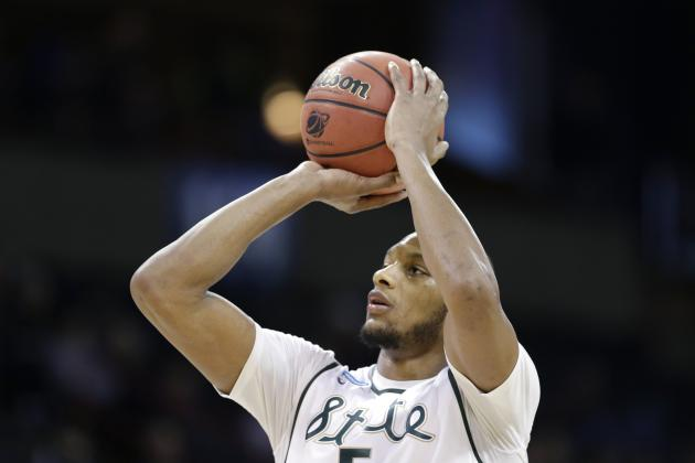 Superman Is Soaring: MSU's Adreian Payne Starts Farewell Tour with Monster Game