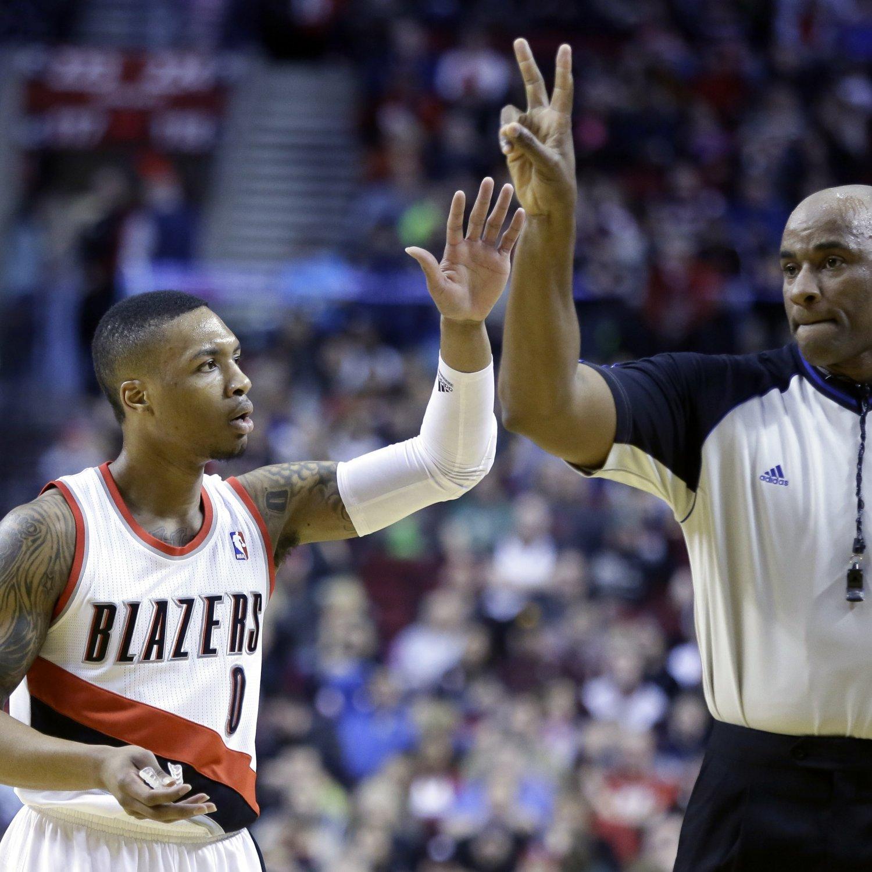 Blazers Basketball Reference: Damian Lillard Breaks Trail Blazers' Single-Season Record