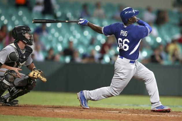 Yasiel Puig to Bat Leadoff in Dodgers' Opening Day Lineup