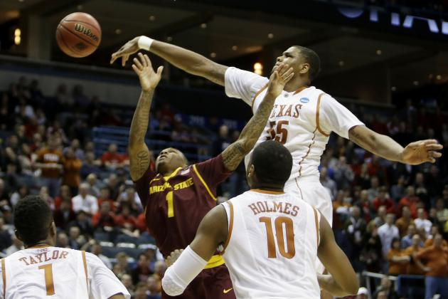 Texas vs. Arizona State: Score, Twitter Reaction, More from March Madness 2014