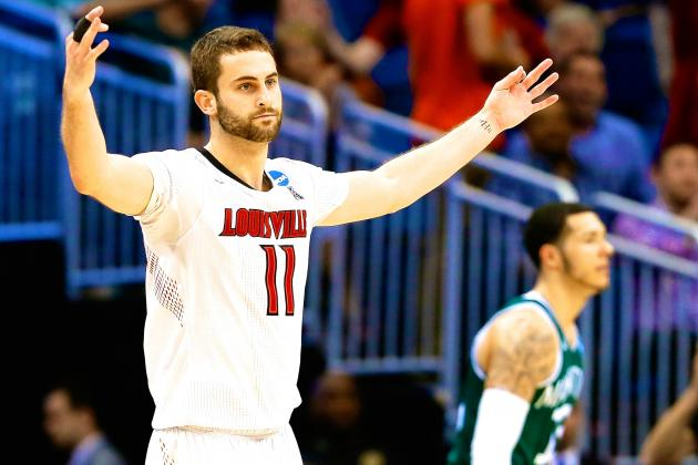 Louisville vs. Manhattan: Score, Twitter Reaction, More from March Madness 2014