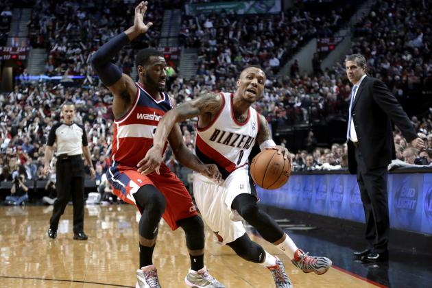 John Wall Holds Edge over Damian Lillard in Battle of Young Elite Point Guards