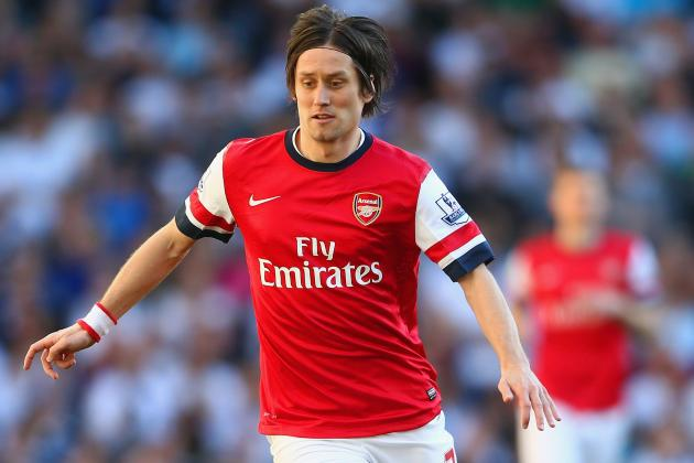 Tomas Rosicky Injury: Updates on Arsenal Star's Ankle and Return