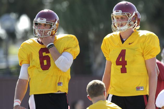 USC Football: Spring Practice QB Competition Update