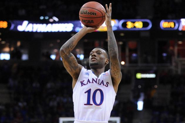 KU's Tharpe Heeds Brother's Advice: Shoot the Ball to the Ceiling