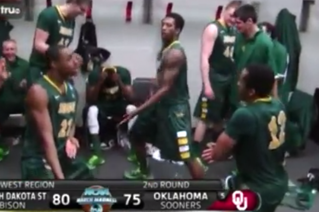 NDSU Players Redefine Dance with Kung Fu Fighting Celebration