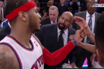 Melo to Coach: 'Let's Play the F**king Game'