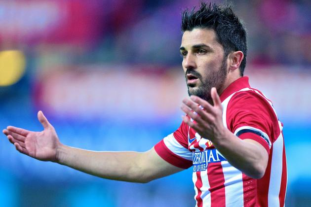 David Villa Exclusive: Atletico Madrid Star Talks Barcelona, Diego Costa, MLS