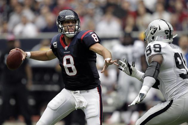 Why Trading for Matt Schaub Was Best Option for the Oakland Raiders