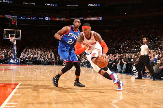 New York Knicks vs. Philadelphia 76ers: Live Score and Analysis