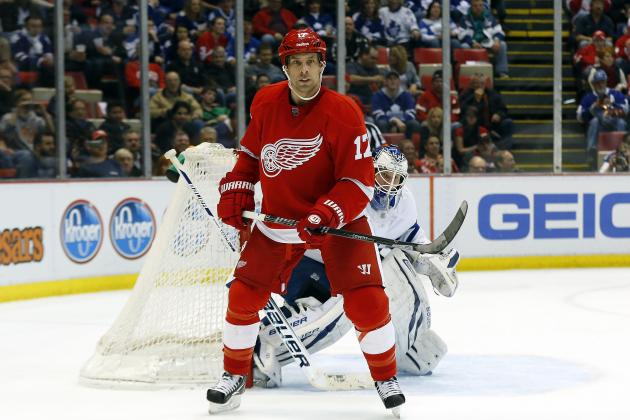 Red Wings' Legwand Fined $5,000 for Butt-Ending Penguins' Evgeni Malkin