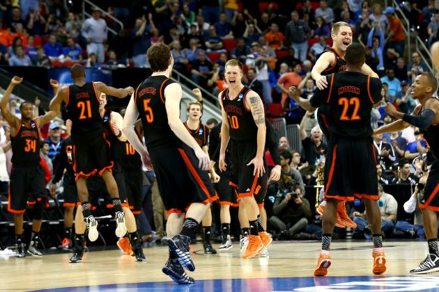 March Madness Scores: NCAA Tournament's Most Surprising Round-of-64 Results