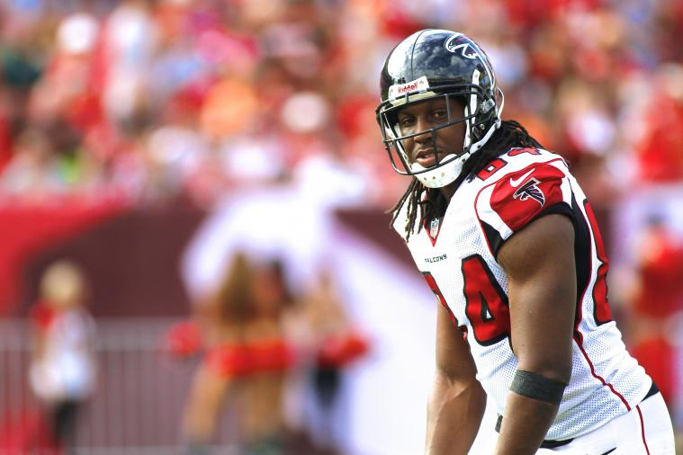 Falcons' Roddy White Owes Fan Season Tickets After Mercer Upsets Duke