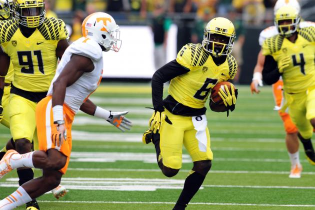 De'Anthony Thomas NFL Draft 2014: Highlights, Scouting Report for Chiefs RB