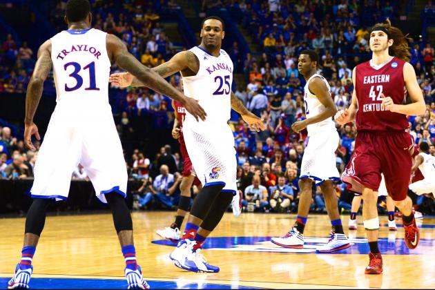 Kansas vs. Eastern Kentucky: Score, Twitter Reaction from March Madness 2014
