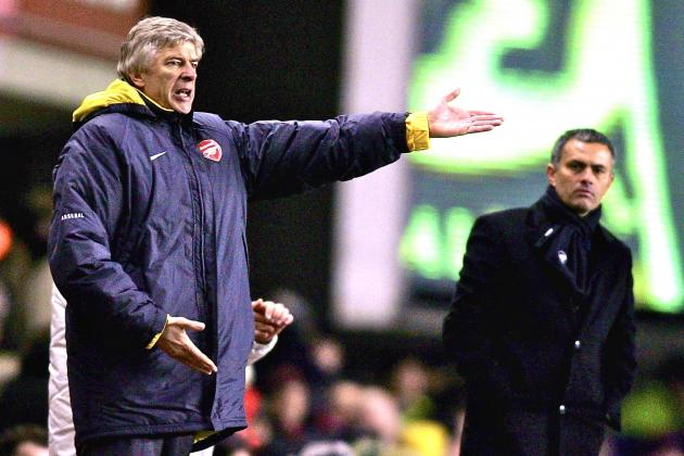 Wenger & Mourinho Have Opposing Methods, but Players Will Ignore Mind Games
