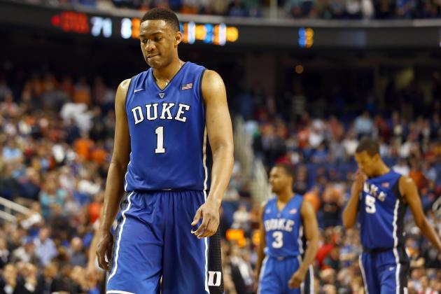 How Duke's Upset Loss in NCAA Tourney Could Affect Jabari Parker's Draft Status