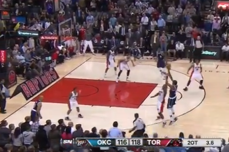Kevin Durant Nails Game-Winning 3-Pointer in Double-Overtime Against Raptors